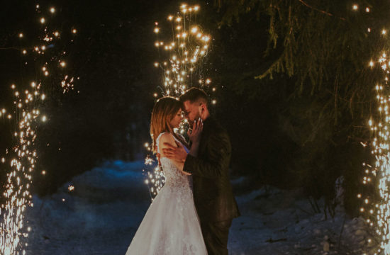 Malwina i Arkadiusz, fotografia ślubna Sląsk, Tomasz Konopka fotograf, Szczyrk Romeo i Julia, Skrzyczne sesja zimowa , ślub w górach